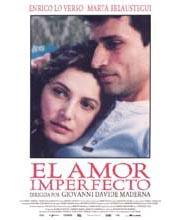 Imagen poster cartel película EL AMOR IMPERFECTO