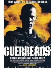 Imagen poster cartel película GUERREROS