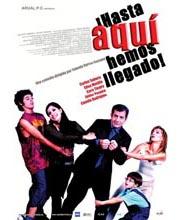 Imagen poster cartel película HASTA AQUÍ HEMOS LLEGADO