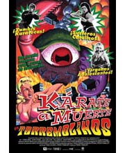 Imagen poster cartel película KARATE A MUERTE EN TORREMOLINOS