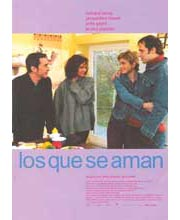 Imagen poster cartel película LOS QUE SE AMAN