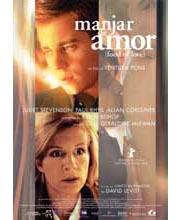 Imagen poster cartel película MANJAR DE AMOR