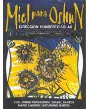 Imagen poster cartel película MIEL PARA OSHÚN