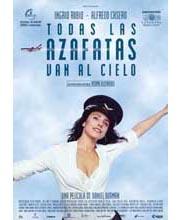 Imagen poster cartel película TODAS LAS AZAFATAS VAN AL CIELO